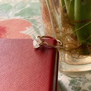 Jewelry - Oval Moissanite Engagement Ring